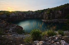 Changsha abandoned mine Stock Image