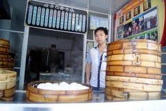 Changsha china: baozi restaurant Stock Photo