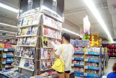 Changsha china: bookstore and readers Royalty Free Stock Photos