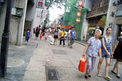 Changsha china: taiping street landscape Royalty Free Stock Photo