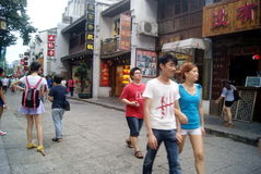 Changsha china: taiping street landscape Stock Photos