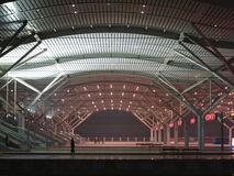 Changsha High Speed  Rail Station Royalty Free Stock Photo