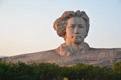 Changsha Orange Isle Youth Mao Zedong statue Royalty Free Stock Photography