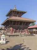 Changu纳拉扬-加德满都谷地的古庙 库存图片
