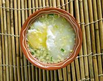 Changua con Huevo Stock Image