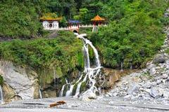 Changuangtempel in Taroko-Park royalty-vrije stock fotografie