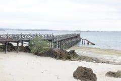 Changuu wyspy molo Fotografia Stock
