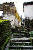 Changxi by, den forntida byn för Huizhou stil i Kina fotografering för bildbyråer