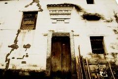 Changxi by, den forntida byn för Huizhou stil i Kina Arkivbilder