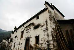 Changxi by, den forntida byn för Huizhou stil i Kina Royaltyfri Fotografi