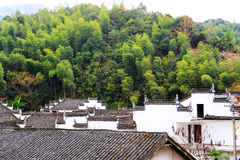 Changxi village ,the Huizhou style ancient village in China. Located in Wuyuan county , Shangrao  city, Jianxi Province, China Stock Photography