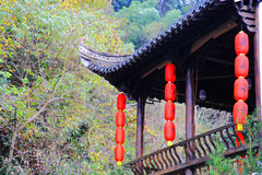 Changxi wioska Huizhou stylowa antyczna wioska w Chiny fotografia stock