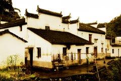 Changxi wioska Huizhou stylowa antyczna wioska w Chiny Zdjęcia Stock