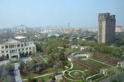 Changzhou в Китае, общем городском пейзаже стоковая фотография