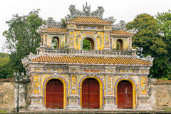 Chanh Tay Gate in Hue citadel Royalty Free Stock Photography