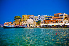 Chania/Κρήτη/Ελλάδα Στοκ Φωτογραφία