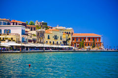 Chania/Κρήτη/Ελλάδα Στοκ Φωτογραφίες
