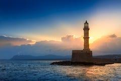 Chania, νησί της Κρήτης, Ελλάδα Στοκ Φωτογραφία