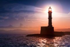 Chania, νησί της Κρήτης, Ελλάδα Στοκ Εικόνες