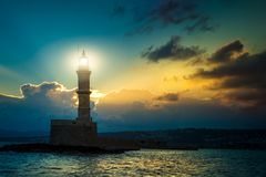 Chania, νησί της Κρήτης, Ελλάδα Στοκ Φωτογραφίες