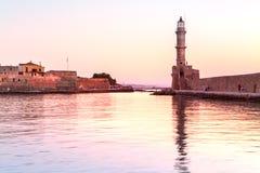 Chania, νησί της Κρήτης, Ελλάδα Στοκ εικόνες με δικαίωμα ελεύθερης χρήσης