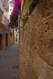 Chania, городок Крита старый Стоковые Фото