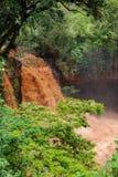 Chania понижается в Thika Кению Африку Стоковая Фотография RF