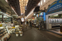 Агора рынка в Chania Стоковое Изображение RF