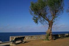 Chania beach in Greece, Europe Royalty Free Stock Photo