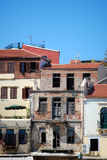 Chania buildings Royalty Free Stock Photo