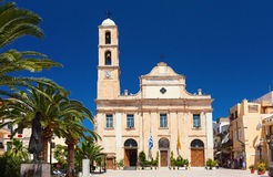 Chania church in Crete island Royalty Free Stock Photography