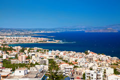 Chania city from above, Crete Stock Photography