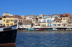 Chania city at Crete island, Greece Royalty Free Stock Images