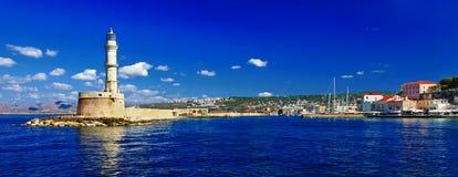 Chania, Creta, Grecia Fotografia Stock