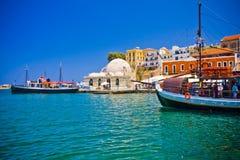 Chania/Creta/Grecia Foto de archivo libre de regalías