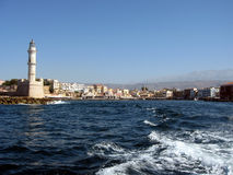 chania crete Royaltyfria Foton