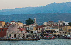 Chania. Crete. Obrazy Royalty Free
