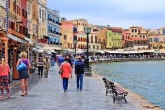Chania, Crete Foto de archivo libre de regalías