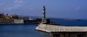 Chania, Crete, Grecia Imágenes de archivo libres de regalías