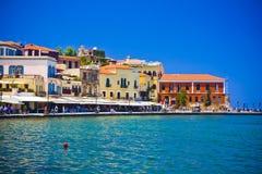 Chania, Crete, Grecja/ Zdjęcia Stock