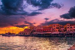 CHANIA, CRETE ISLAND, GREECE - JUNE 26, 2016: Stock Photography