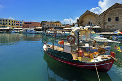 Chania of Crete island in Greece Royalty Free Stock Photo