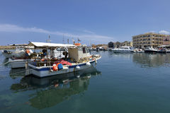 Chania of Crete island in Greece Royalty Free Stock Photos