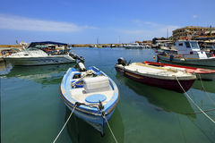 Chania of Crete island in Greece Royalty Free Stock Photography