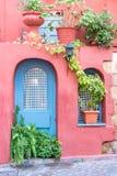 Chania, Crete - 04 Listopad, 2017: Piękna ulica w Chania Zdjęcie Stock