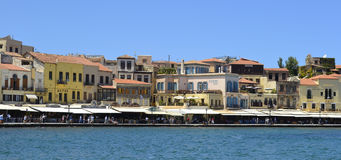 Chania in Crete, Greece Stock Photo