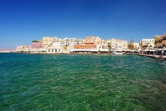 Chania, Crete. View of the city Chania, Crete Royalty Free Stock Photography