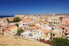 Chania, Crete. View of the city Chania, Crete, Greece Stock Images