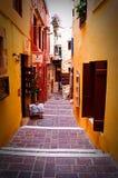 Chania de Crète Photos libres de droits