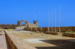 Chania - 21 de mayo - ciudad vieja. El museo marítimo de Chania, Creta, Fotografía de archivo libre de regalías
